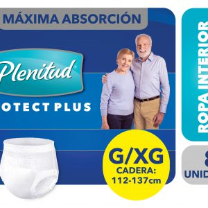 Ropa Interior Plenitud Elastizados Unisex G/XG x32