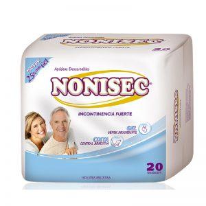 Apositos Nonisec Incontinencia Fuerte Unisex x120