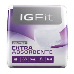 Ropa Interior Ig Fit Elastizados Unisex M x96