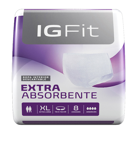 Ropa Interior Ig Fit Elastizados Unisex XG x96