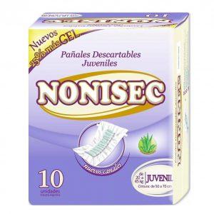 Pañales Nonisec Clasicos Unisex x80