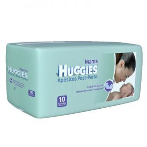 Apositos Huggies Post Parto Mujer x120