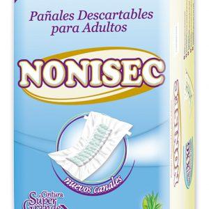 Pañales Nonisec Clasicos Unisex M x80