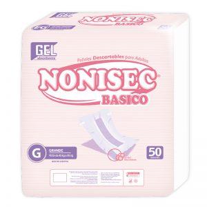 Pañales Nonisec Clasicos Unisex G x100