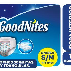 Ropa Interior Goodnites Unisex S/m X56