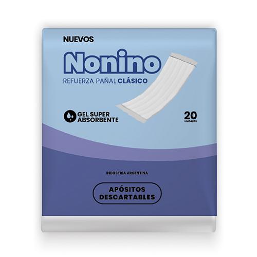 Refuerza Pañal Nonino Clasicos Unisex G X120