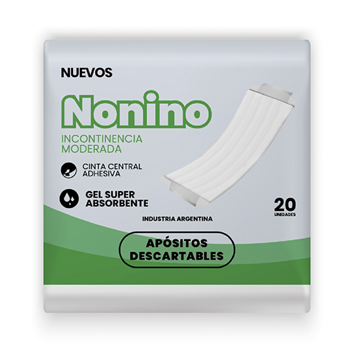 500002 Nonino Aposito Incont Mod 6 X 20 Un C/cinta
