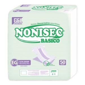 Pañales Nonisec Clasicos Unisex Xg X100