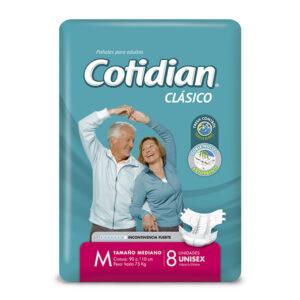 Pañales Cotidian Clasicos Unisex M